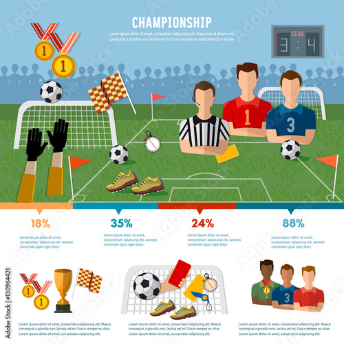 Soccer Infographic Football Team Signs And Symbols Soccer Buy