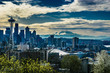 Seattle and Rainier HDR