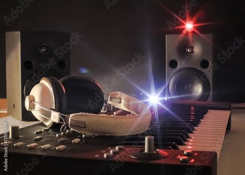 Poster Synthétiseur  - DJ