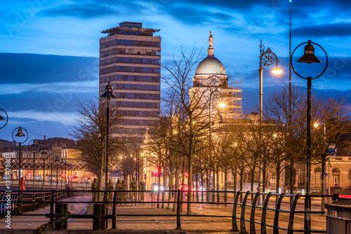 Custom House And Liberty Dublin,Ireland-Europe Poster