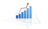 grafico economia, istogrammi, statistiche - 131093684