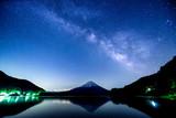 Fototapety Fuji Mountain and the Milky Way