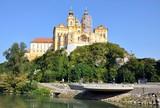 historic monastery, Melk, Wachau, Austria, Europe