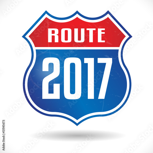 Poster Route 2017 / Route 66