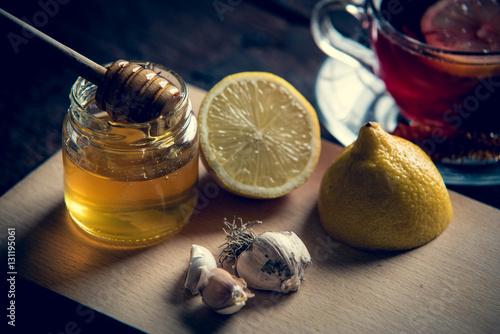 Poster Lemon and honey