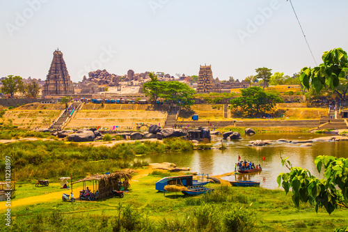 Poster View of Hampi, Unesco world heritage site, India
