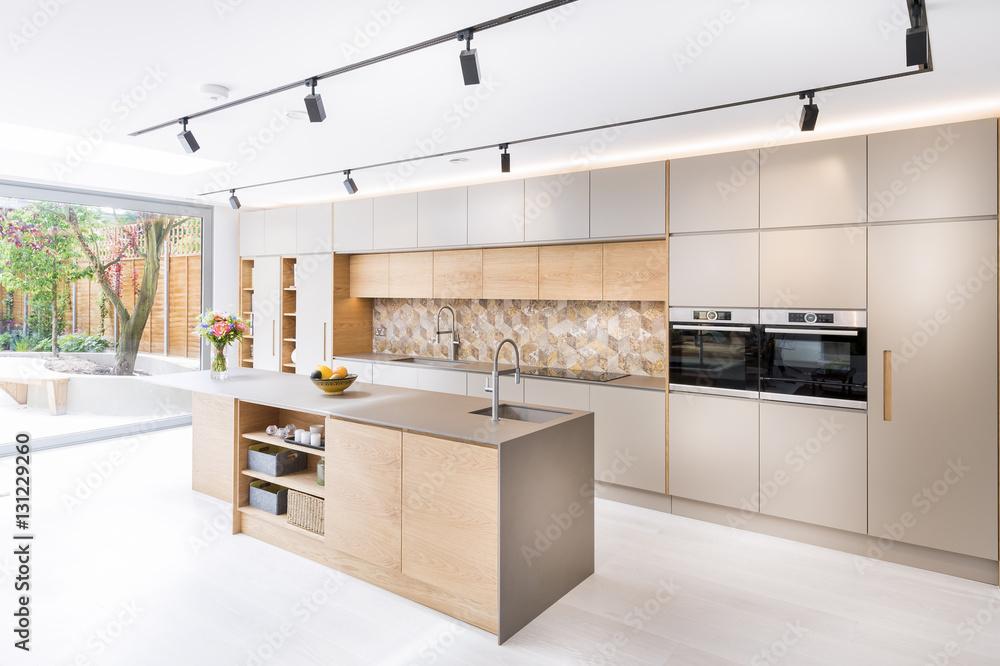 Printed Kitchen Splashbacks Beautiful Kitchen In Luxury