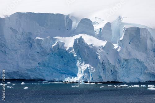 In de dag Antarctica Antarktis
