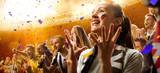stadium soccer fans emotions portrait - 131280669
