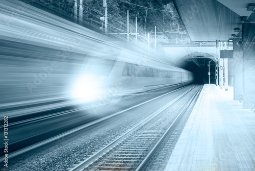 high speed train Poster