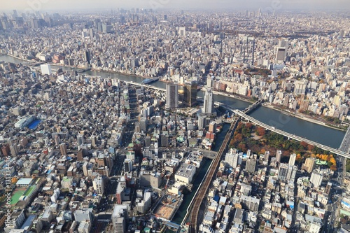 Poster Tokyo, Japan - Sumida and Taito wards