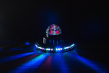 alien spaceship , glow UFO, children's lamp,