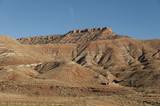 Montañas rojas de Marruecos