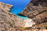 Seitan beach on Crete island- Greece