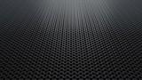 Dark metallic chain armor pattern texture background seamless loop. 3D animation