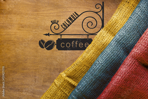 Poster Colombian coffee Poster