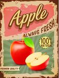 apple vintage banner