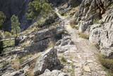 a mountain path in Penha Garcia, Idanha-a-Nova, district of Castelo Branco, Portugal