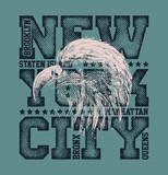 New York City Typography Graphics - 131476668