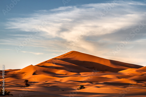 Poster Große Düne in Wüste