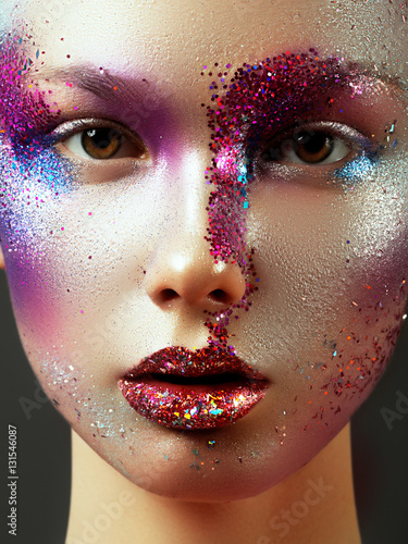 Plakát Beauty, cosmetics and makeup
