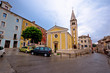 Old istrian town of Buje street view