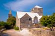 Stone village of Skrip landmarks view