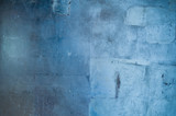 Background of a blue grunge texture