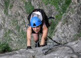 Marga, Climbing On Via Ferrata 2011