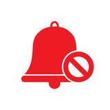 Symbol of stop sound. Vector illustration.