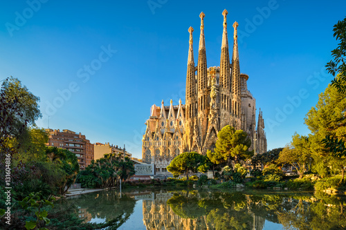 Foto op Canvas Barcelona Sagrada Familia in Barcelona, Spain