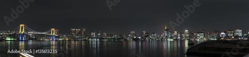 東京湾の夜景(豊洲からの風景)