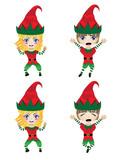 Children Dressed in Elf Costume