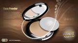 Modern face powder cosmetic