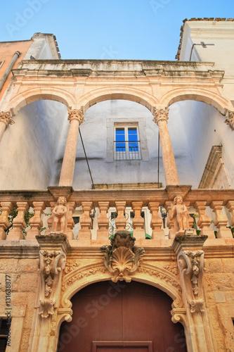 Zdjęcia Antonelli palace. Rutigliano. Puglia. Italy.