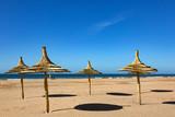Au bord de l'océan vers Taghazout au nord d'Agadir - Maroc