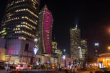 Centrum Warszawy w nocy - 131646434