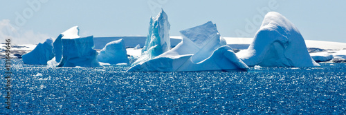 Papiers peints Antarctique Beautiful view in Antarctica