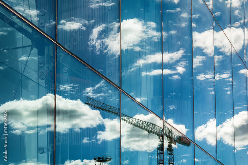 Oslo, Norway - July 18, 2016: View, at daylight, on the beautiful building of the Oslo Opera House