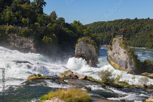 Poster  Rhine Falls. Switzerland.