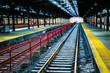 Rails at Hoboken Station