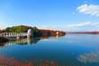 秋�晴天�湖�風景12