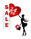 Valentines day sale Advertisement