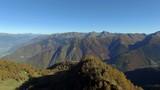 Aerial 4k - Valgerola (IT) - Vista aerea dal Monte Rosetta