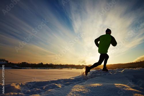 Valokuva Man running
