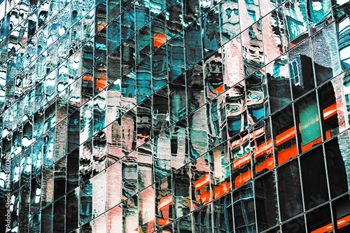 Abstract NYC background - 131736028