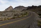 Empty desert road - Route 66