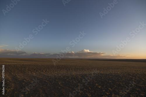 Poster Wüste Gobi - Mongolei