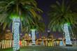 Orlando, Florida, USA, downtown city skyline from Eola Park
