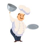 Chef in restaurant.